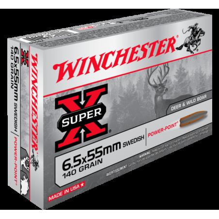 WINCHESTER, 6.5x55, POWER POINT 9.07g/140grs (20szt.)