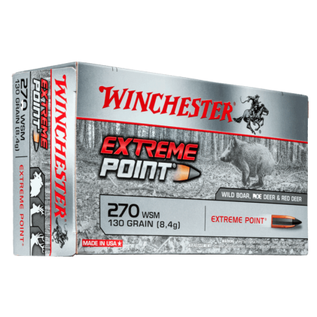 WINCHESTER, 270WSM,EXTREME POINT 8.42g/130grs (20szt.)