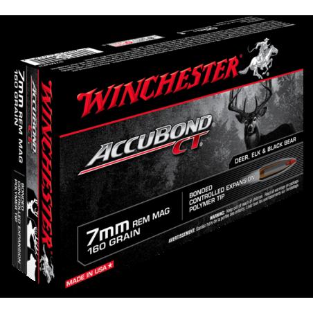 WINCHESTER, 7mmRem, ACCUBOND 10.37g/160grs (20szt.)