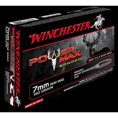 WINCHESTER, 7mmRem, POWER MAX BONDED 9.72g/150grs (20szt.)