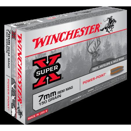 WINCHESTER, 7mmRM  POWER POINT 150grs (20szt.)