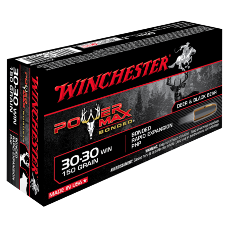 WINCHESTER, 30-30Win, POWER MAX BONDED, 9.72g/150grs (20szt.)