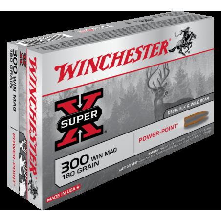 WINCHESTER, 300WM POWER POINT 9.72g/150grs (20szt.)