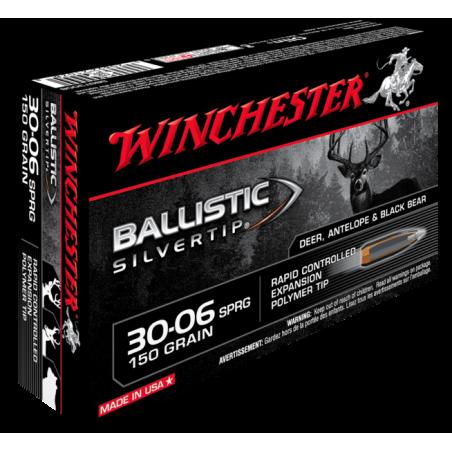 WINCHESTER, 30-06, BALLISTIC SILVERTIP 9.72g/150grs (20szt.)