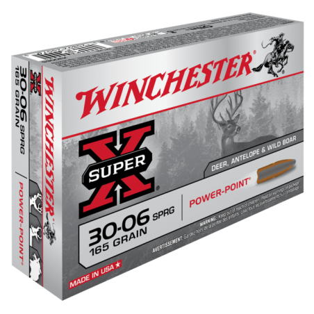 WINCHESTER, 30-06, POWER POINT 10.68g/165grs (20szt.)