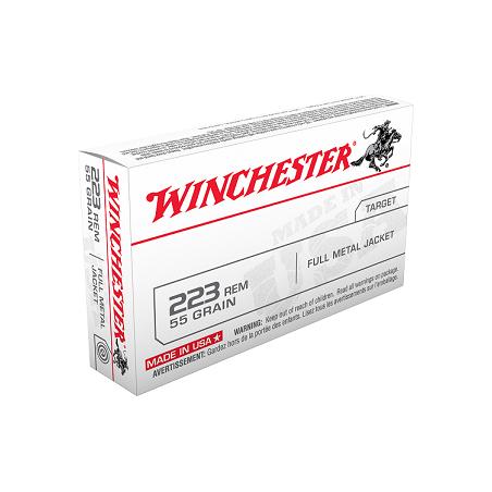 WINCHESTER, 223Rem, FULL METAL JACKET3.56g/55grs (20szt.)