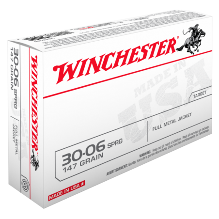 WINCHESTER, 30-06FULL METAL JACKET 9.53g/147grs (20szt.)