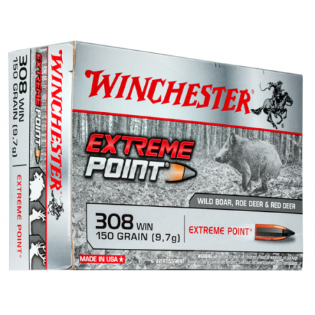 WINCHESTER, 308Win, EXTREME POINT 9.72g/150grs (20szt.)