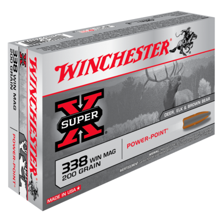 WINCHESTER, 338WM, POWER POINT 12.96g/200grs (20szt.)