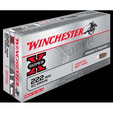 WINCHESTER, 222Rem, POWER POINT 3.24g/50grs (20szt.)
