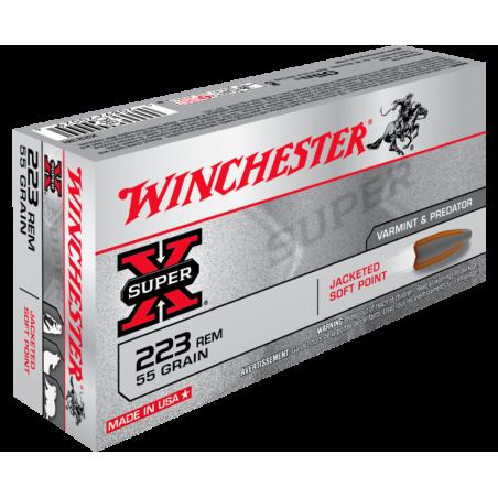 WINCHESTER, 223Rem, POWER POINT 3.56g/55grs (20szt.)