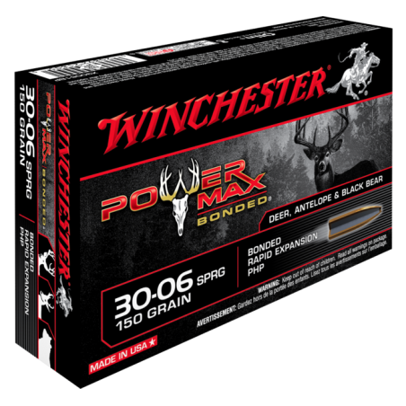 WINCHESTER, 30-06, POWER MAX BONDED 9.72g/150grs (20szt.)