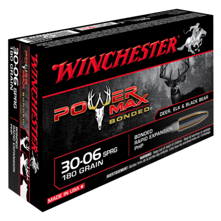 WINCHESTER, 30-06, POWERMAX BONDED 11.66g/180grs (20szt.)