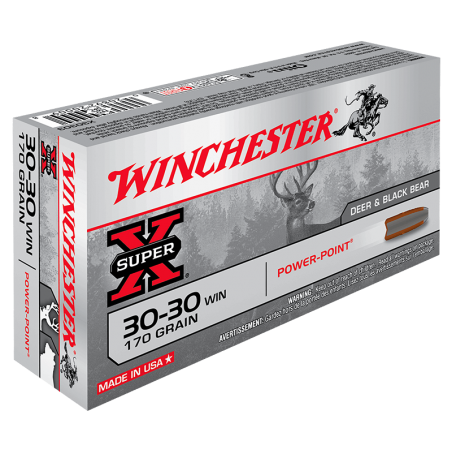 WINCHESTER, 30-30Win, HOLLOW-POINT 9.72g/150grs (20szt.)