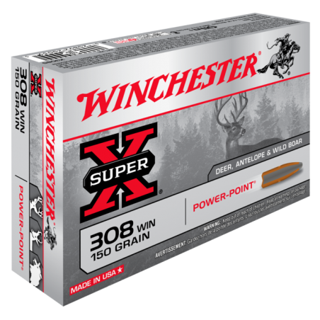 WINCHESTER, 308Win, POWER POINT 9.72g/150grs (20szt.)