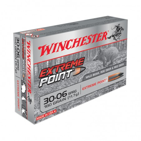 WINCHESTER, 30-06, EXTREME POINT 11.66g/180grs (20szt.)
