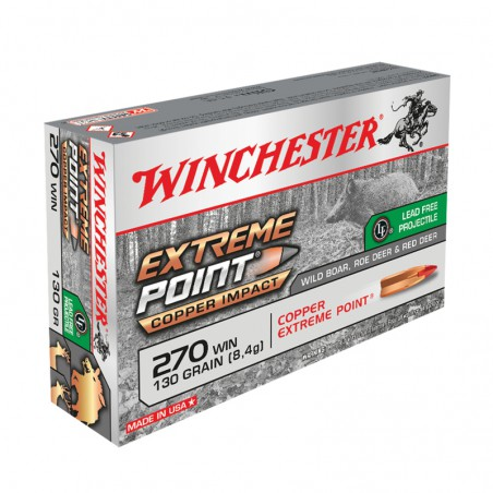 WINCHESTER, 270Win, EXTREME POINT LEAD FREE, 8.42g/130grs (20szt.)