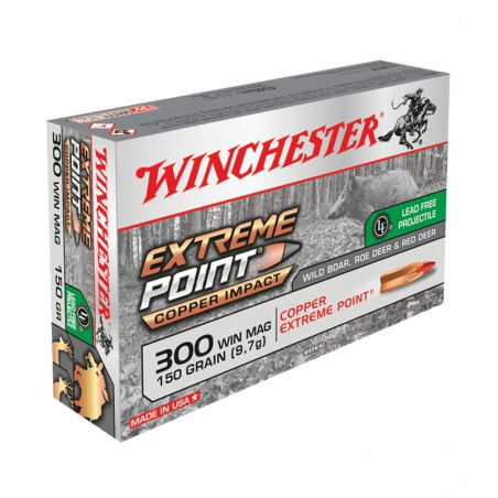 WINCHESTER, 300WM, EXTREME POINT LEAD FREE 9.72g/150grs (20szt.)