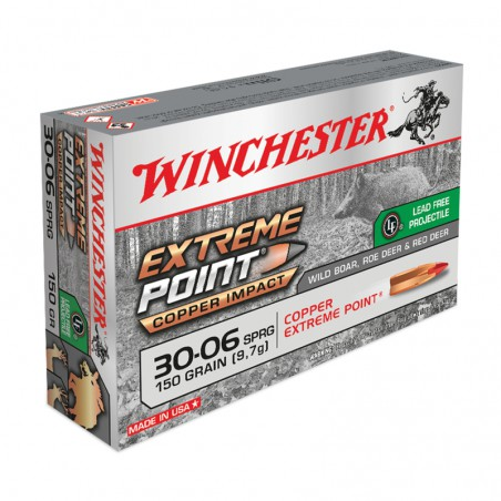 WINCHESTER, .30-06, EXTREME POINT LEAD FREE 150.0grs/9.72g (20szt.)