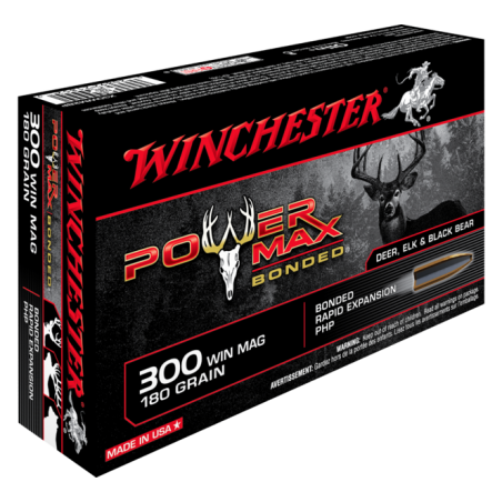 WINCHESTER, 300WM, POWER MAX BONDED 11.66g/180grs (20szt.)