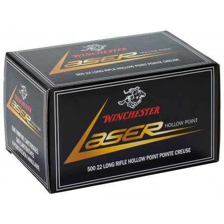 WINCHESTER, 22LR,LASER,COPPER PLATED HP 2.40g/37grs (50szt.)