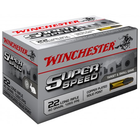 WINCHESTER, 22LR,SUPERSPEED,COPPERPLATED LRN 2.59g/40grs (50szt.)