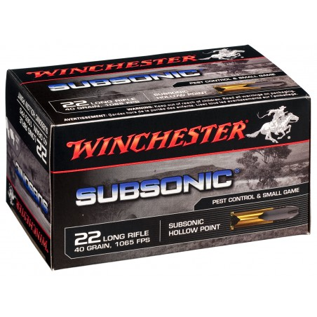 WINCHESTER, 22LR,SUBSONIC,TRUNCATED CONE HP 40grs (50szt.)