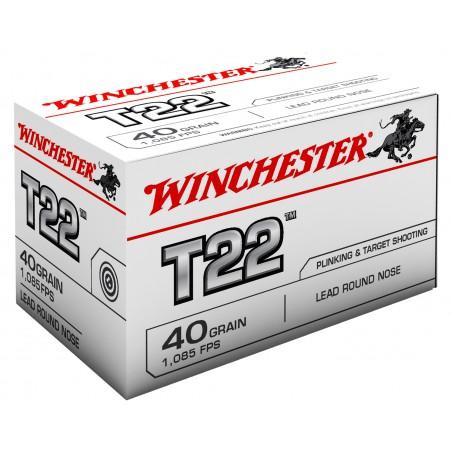WINCHESTER, 22LR,T22, LRN 2.59g/40grs (50szt.)