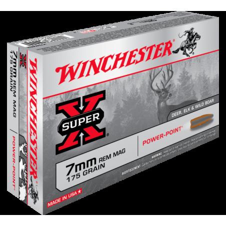 WINCHESTER, 7MM REM MAG.11.34g/175 grs (20szt.)