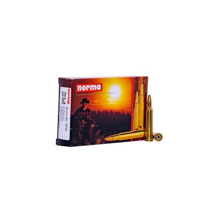 NORMA, .220 SWIFT ORYX 55gr (20szt.)