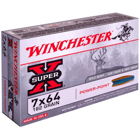 WINCHESTER, 7x64, POWER POINT 10.50g/162grs (20szt.)