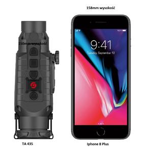 porównanie TA435 do iphone 8 plus
