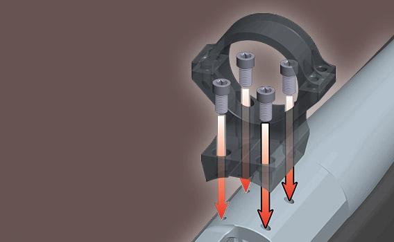 obraz systemu montażu x-lock