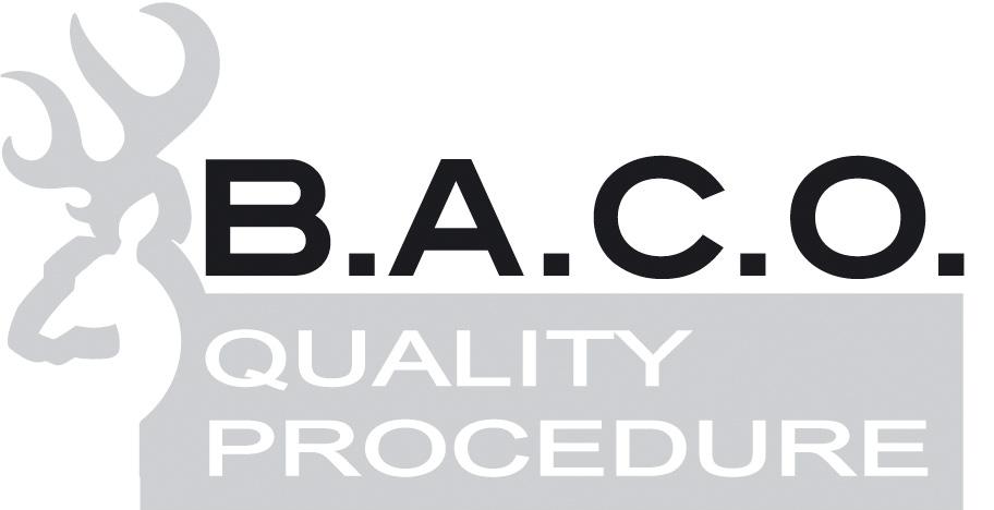 logo Browning Arms Company Quality Procedure - rygorystyczne testy nowych produktów