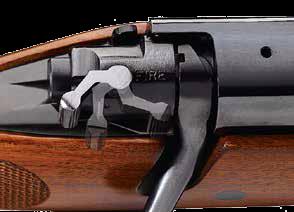 zbliżony obraz zamka broni