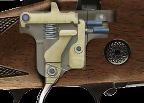 widok mechanizmu spustowego broni
